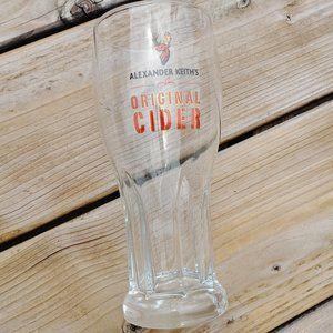 Alexander Keith's Original Cider Pint Glass